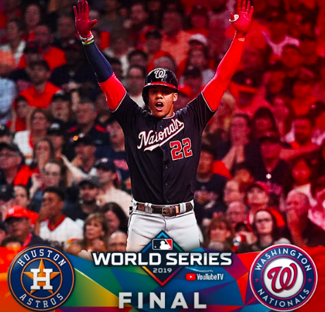 The Washington Nationals Are World Series Champs!